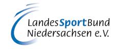 LandesSportBund Niedersachsen e. V. Logo